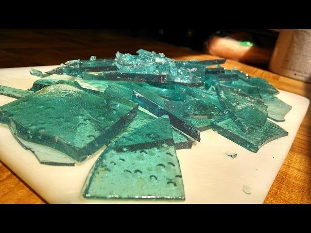 Как сделать сахарное стекло