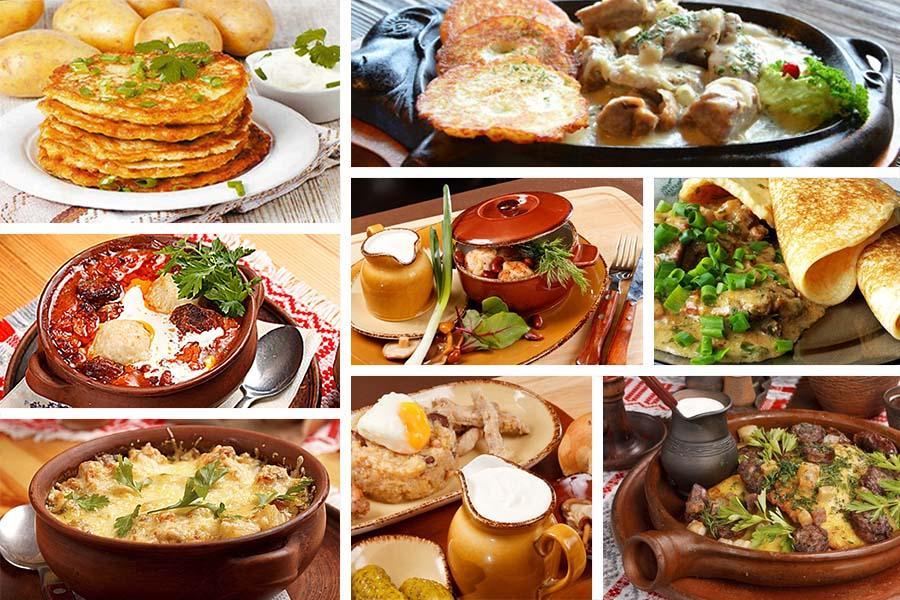 Драчена картофельная картофель, мука пшеничная, яйцо, сало, лук репчатый, масло сливочное, сметана, сода, соль и перец раздел: картофельные оладьи с колбасками и запечённым в свч перцем.