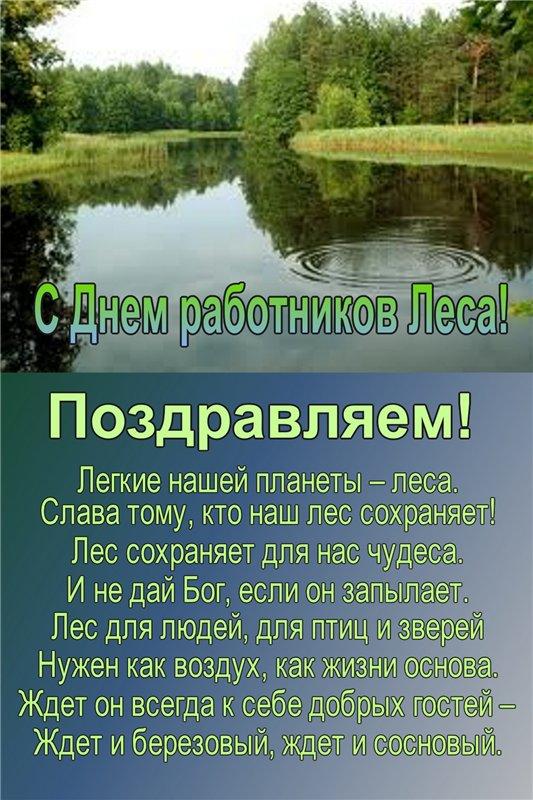 Поздравление с днем рождения о лесе в стихах