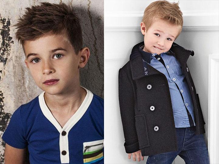детские модные стрижки для мальчиков фото