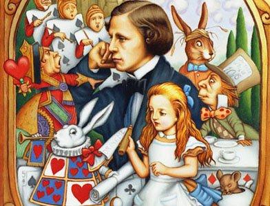 Льюис Кэрролл Алиса в Зазеркалье  Картинки и разговоры