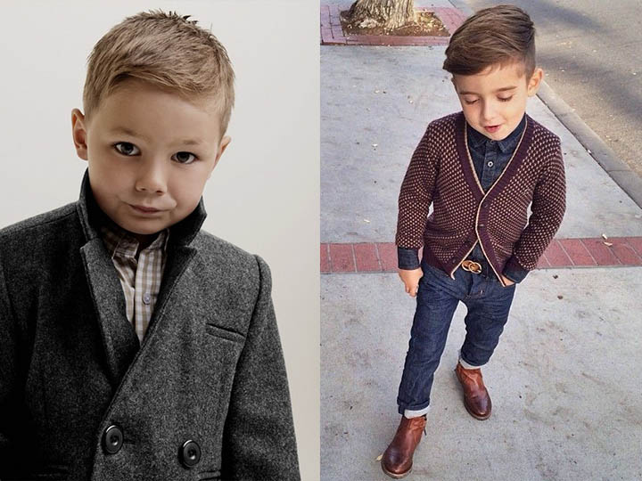 стрижки мальчикам фото модные