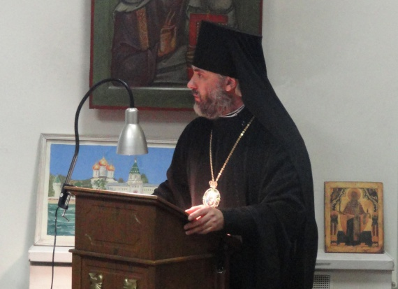 Преосвященнейший Владыка Николай, епископ Салаватский и Кумертауский(Субботин Василий Александрович).