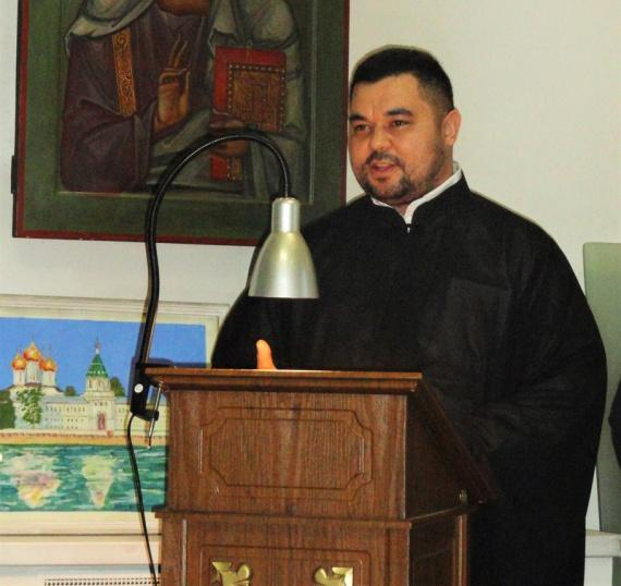 Диакон Максим Погор руководитель Спортивного отдела Хабаровской Епархии Русской Православной Церкви